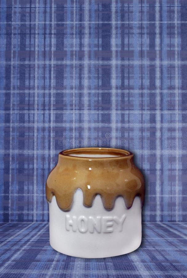 Escena del crisol de la miel de la fantasía para insertar el tema fotos de archivo