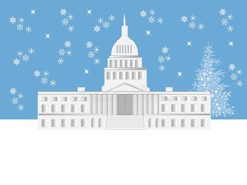 Escena del día de fiesta del Washington DC imagen de archivo