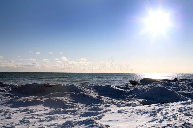 Escena del invierno imagen de archivo