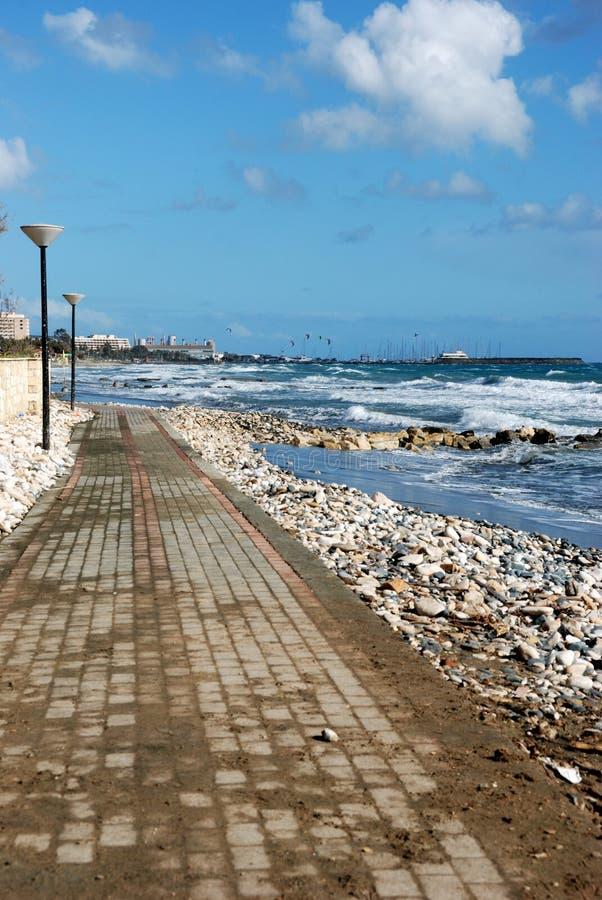 Escena del mar agitado fotos de archivo libres de regalías