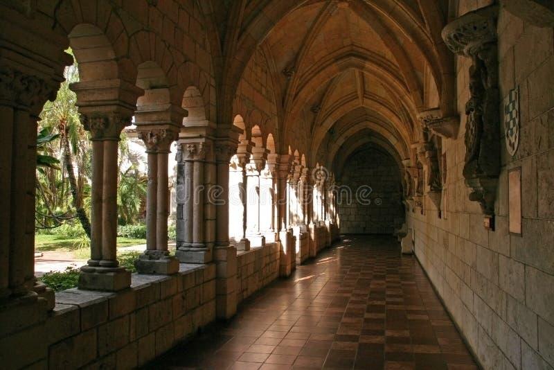 Escena del monasterio fotos de archivo libres de regalías