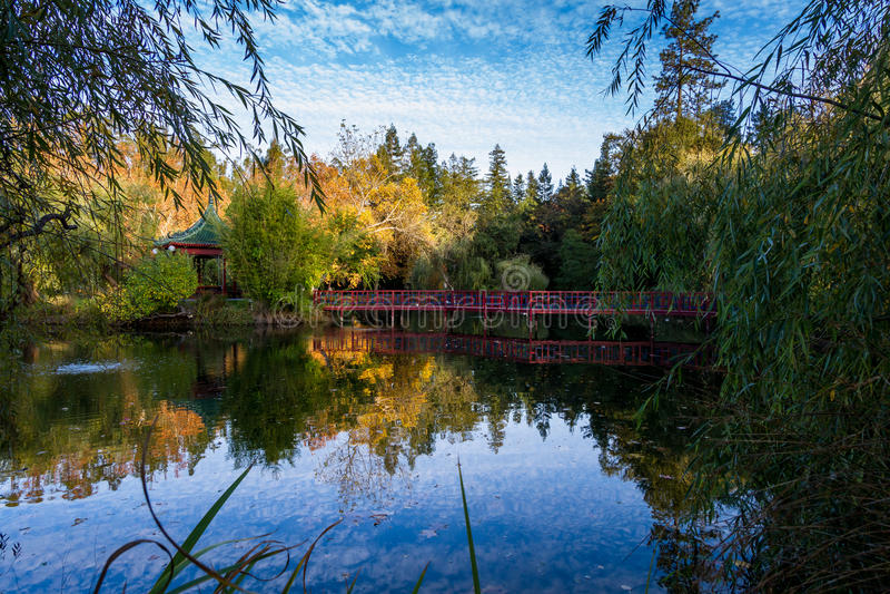 Escena del otoño que calma imagen de archivo