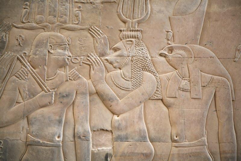 Escena egipcia foto de archivo libre de regalías