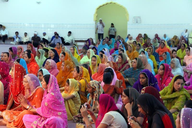 Escena en una boda sikh imágenes de archivo libres de regalías