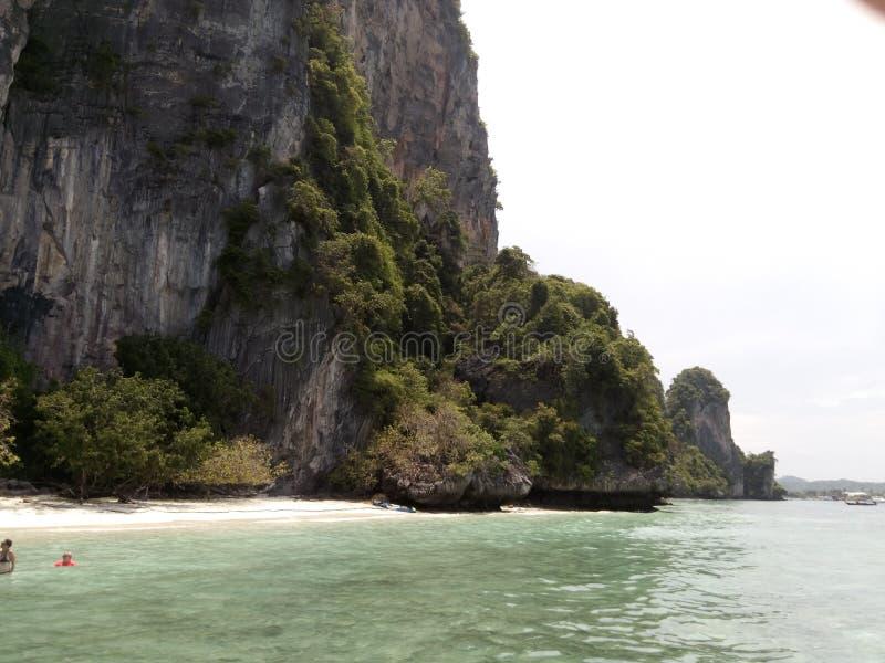 Escena hermosa de la isla en Phuket fotos de archivo