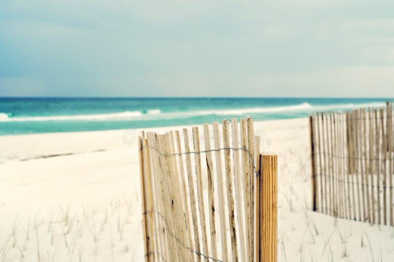 Escena impresionista suave de la playa foto de archivo libre de regalías