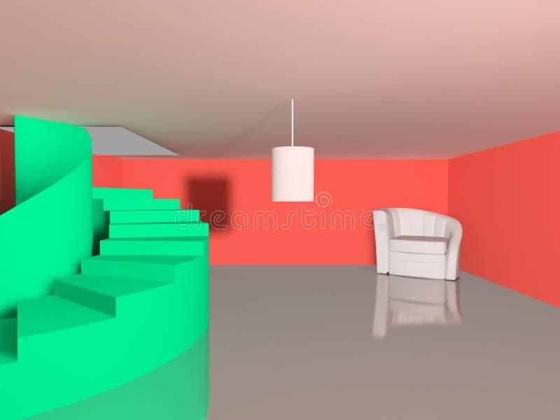 Escena interior imagenes de archivo