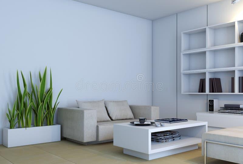 Escena interior libre illustration