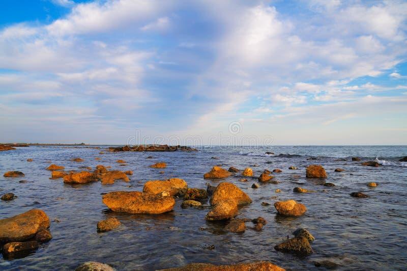 Escena mediterránea foto de archivo libre de regalías