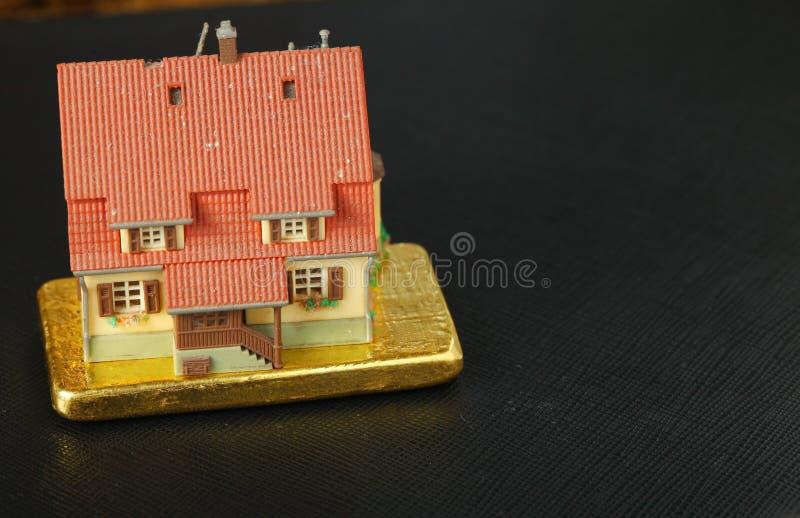 Escena modelo de la casa fotos de archivo