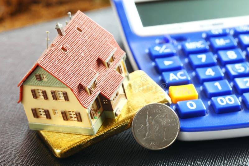 Escena modelo de la casa imagen de archivo libre de regalías