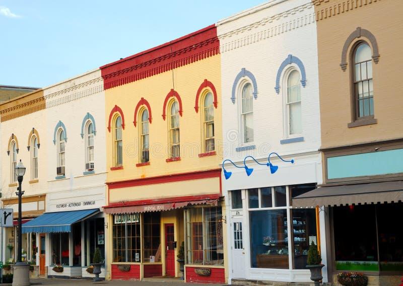 Escena pintoresca de la calle foto de archivo libre de regalías