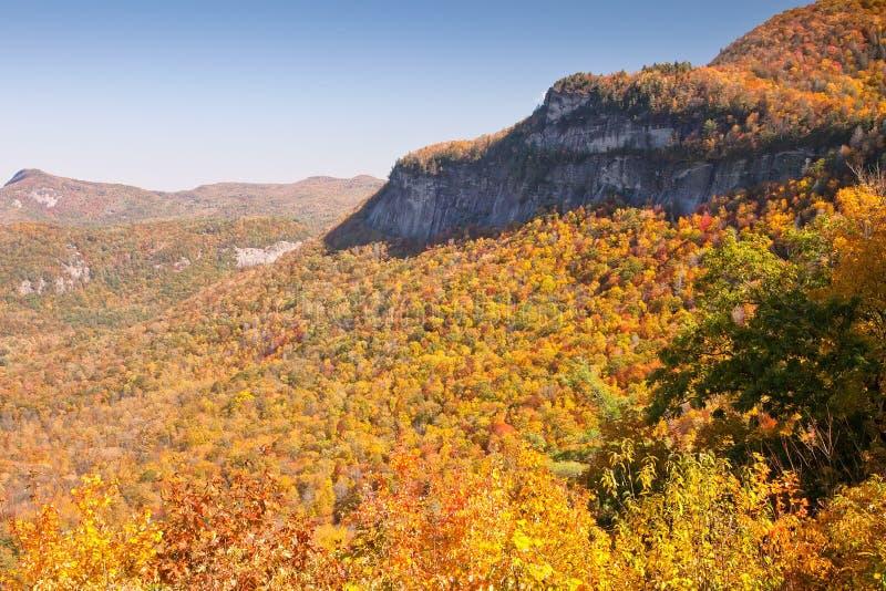 Escena rural de la montaña en Carolina del Norte imagenes de archivo