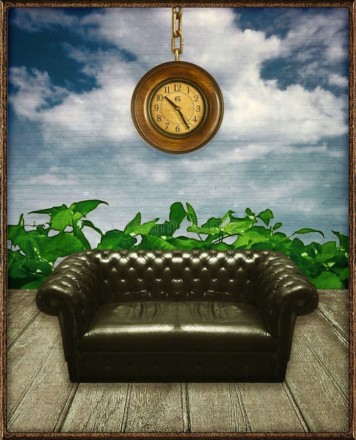 Escena surrealista del collage de Digitaces libre illustration