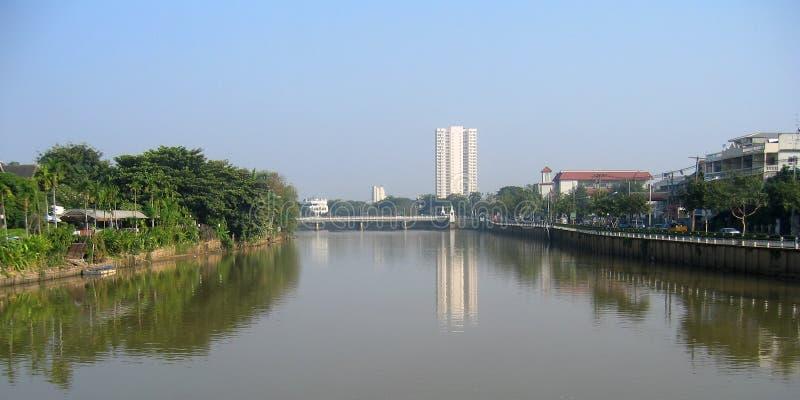 Escena urbana. Chiang Mai, Tailandia fotografía de archivo