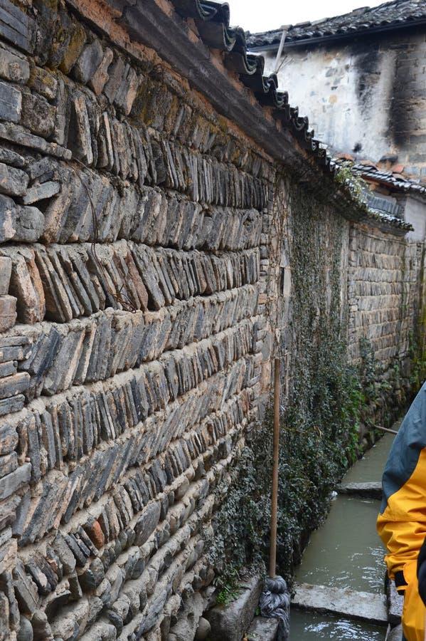 Escenas chinas del pueblo fotos de archivo libres de regalías