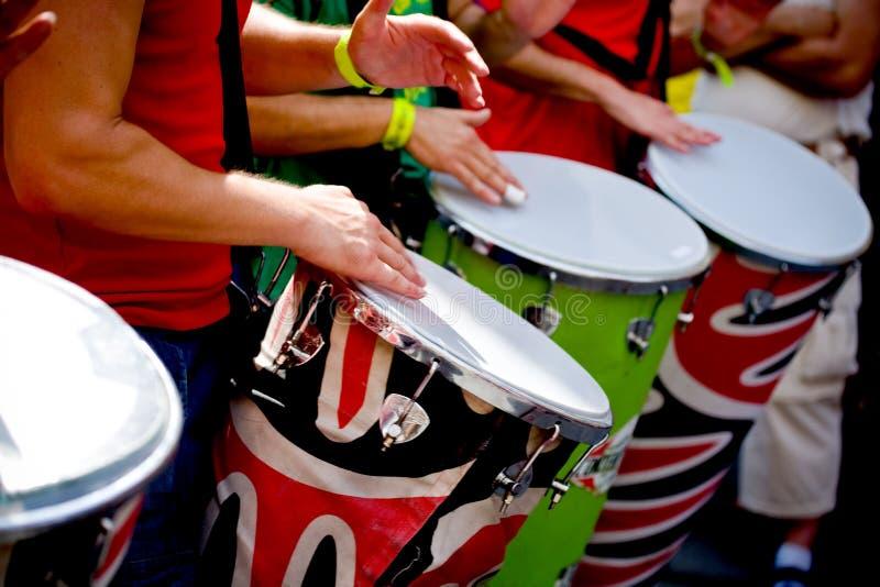 Escenas de la samba imagen de archivo