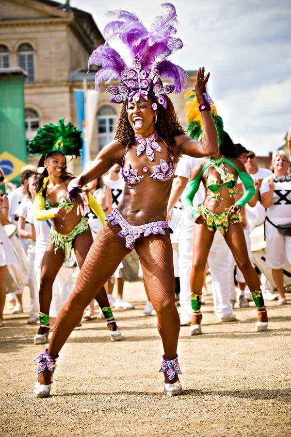 Escenas de la samba imágenes de archivo libres de regalías