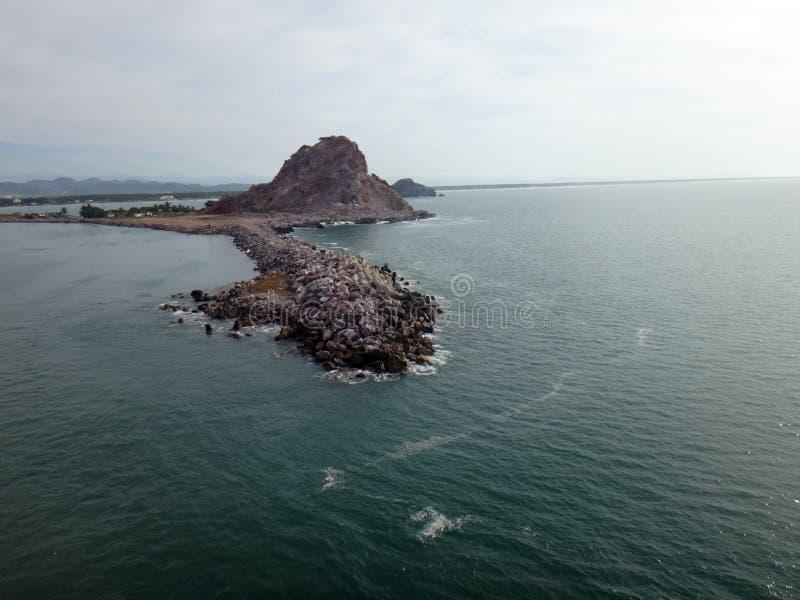 Escenas de Mazatlan, México de un barco de cruceros imágenes de archivo libres de regalías