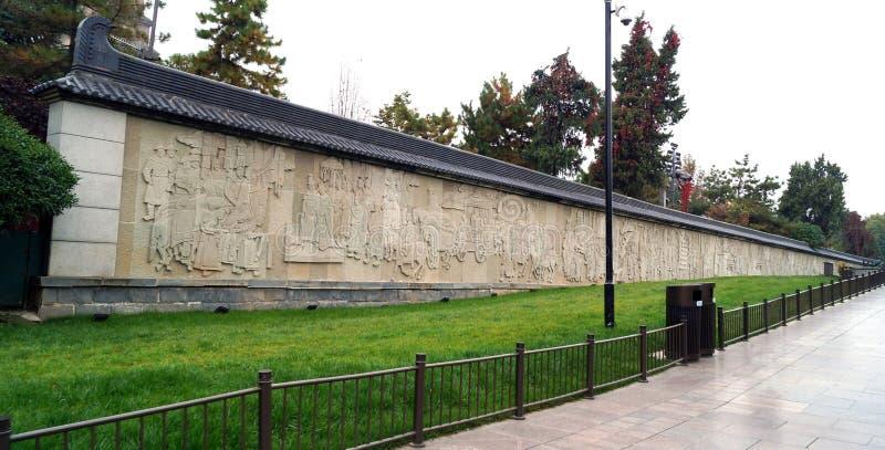 Escenas murales Xi`an fotografía de archivo