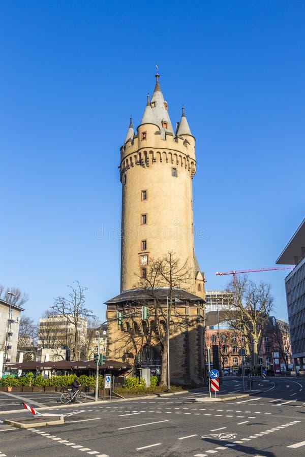 Eschenheimer Turm, Frankfurt stock photography