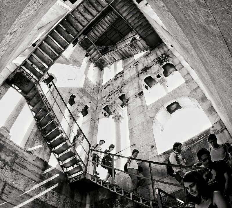 Escher schodki zdjęcie stock