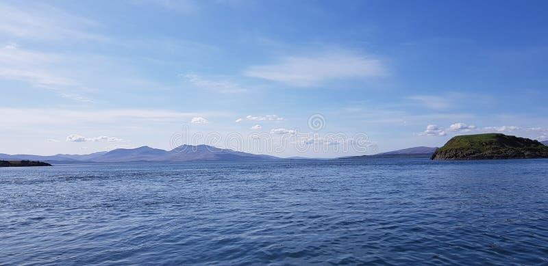 Escocés Seaview foto de archivo libre de regalías