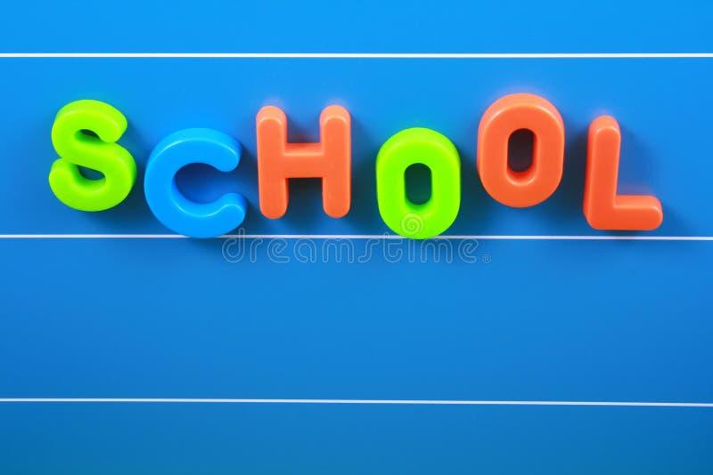 Escola fotografia de stock royalty free