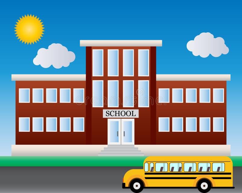 escola Boa vinda de volta à escola ilustração royalty free