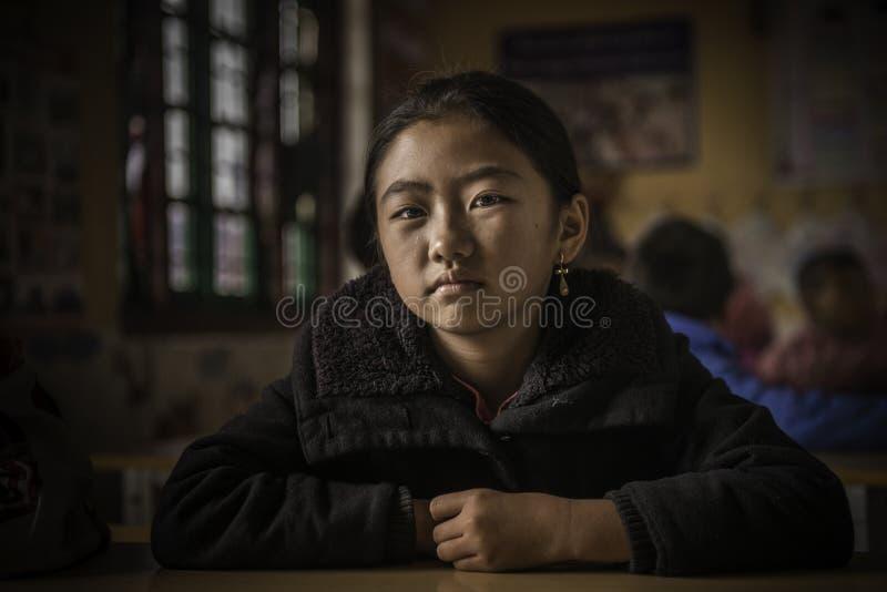Escola da criança fotografia de stock