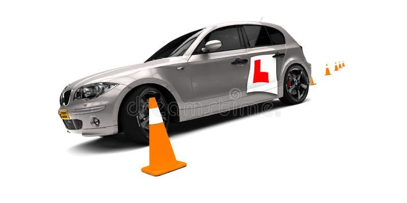 Escola de condução ilustração stock