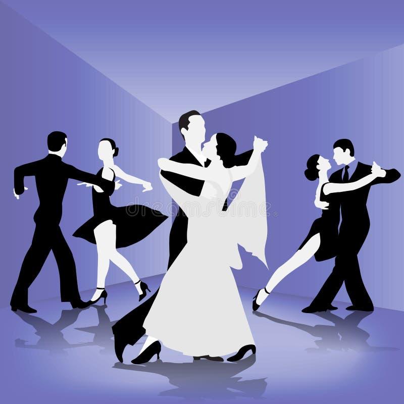 Escola de dança ilustração stock
