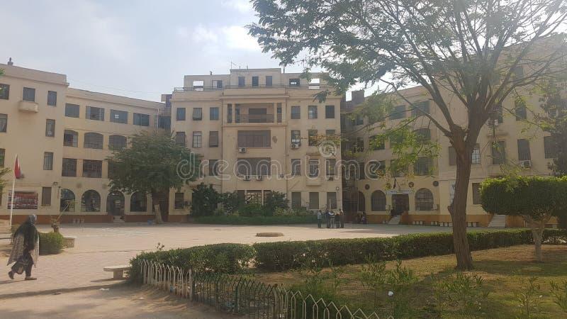 Escola de Nasr English fotos de stock royalty free