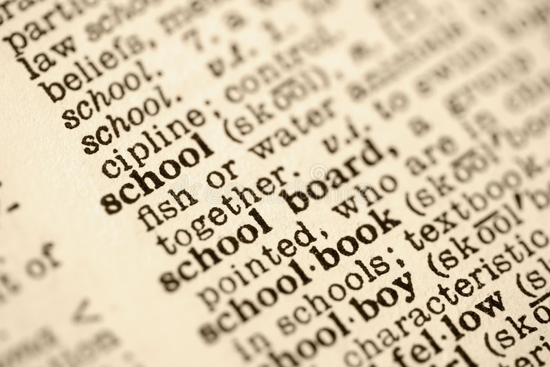 A escola definiu. foto de stock royalty free