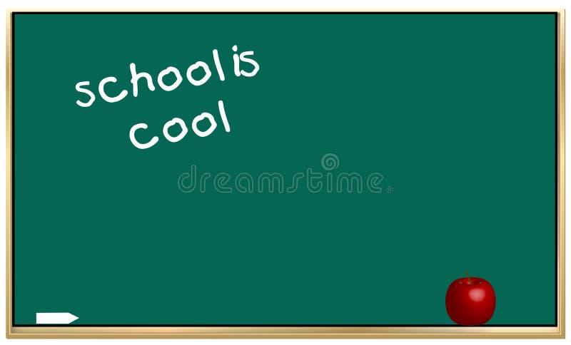 A escola está fresca ilustração do vetor
