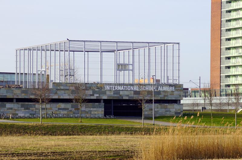 Escola internacional Almere imagens de stock royalty free