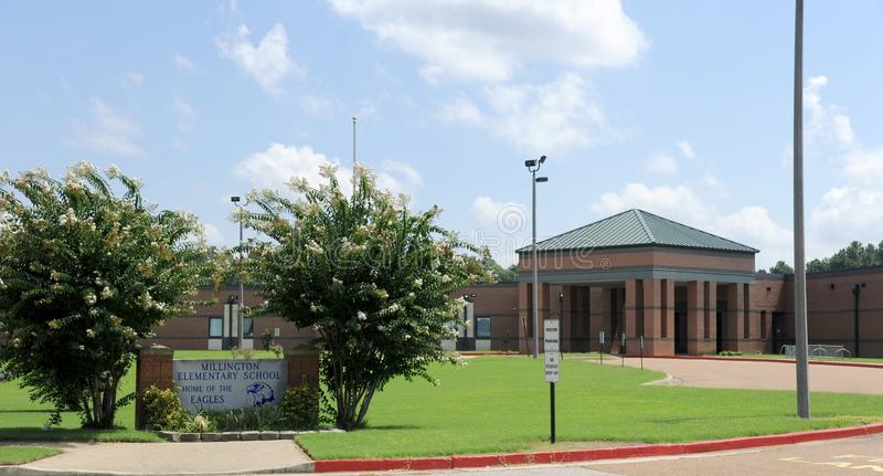 Escola primária de Millington fotos de stock