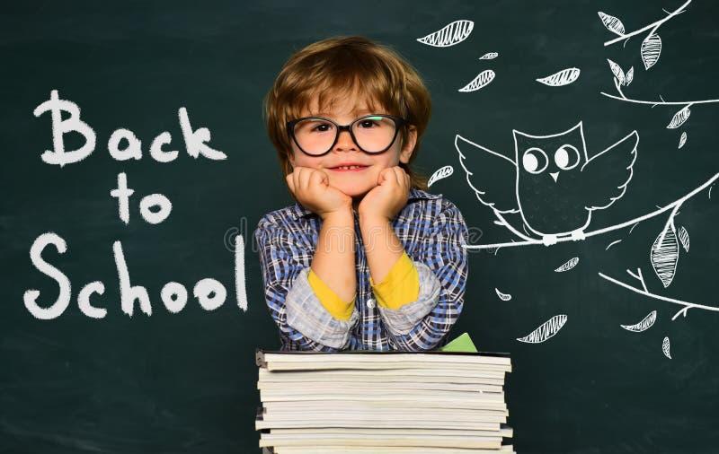 Escola privada Aprendendo o conceito Conceito da educa??o da ci?ncia Crian?as da escola Primeira educação da educação educacional foto de stock