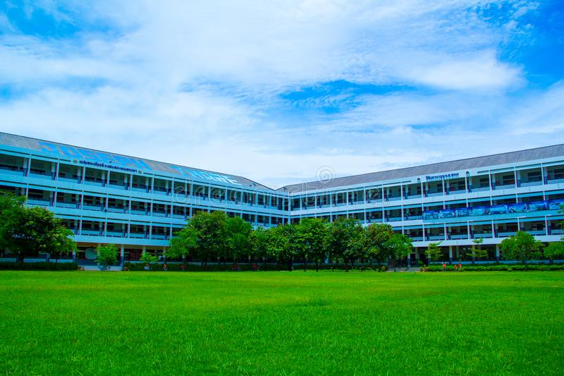 Escola verde imagem de stock