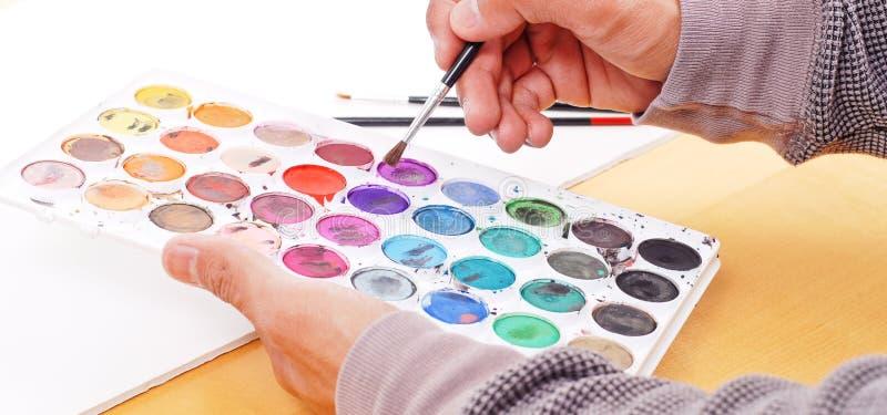 Escolha das cores imagem de stock royalty free