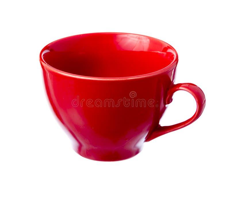 Download Copo cerâmico vermelho. imagem de stock. Imagem de vazio - 29842991