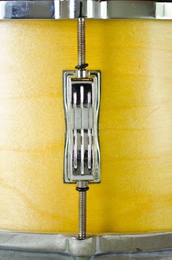 Escolha o talão do cilindro de snare da madeira compensada imagens de stock