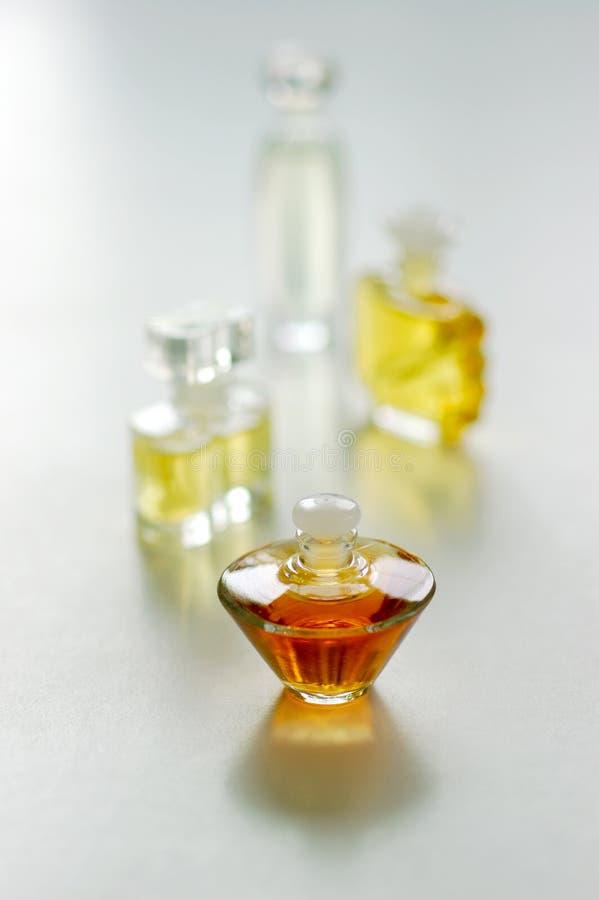 Escolhas do perfume fotografia de stock