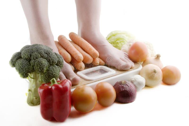 Escolhas Saudáveis Foto de Stock