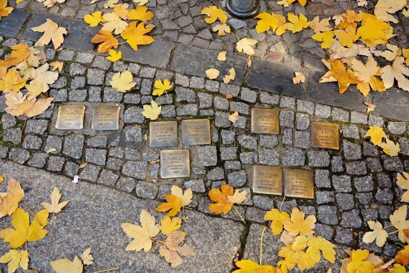 Escollos, holocausto, en Berlín foto de archivo libre de regalías