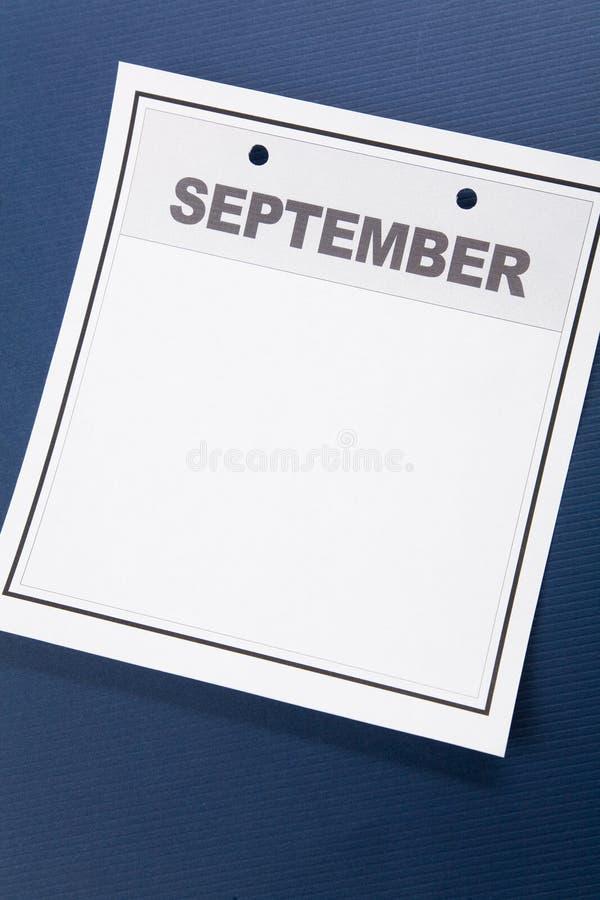 Esconda el calendario imagen de archivo libre de regalías