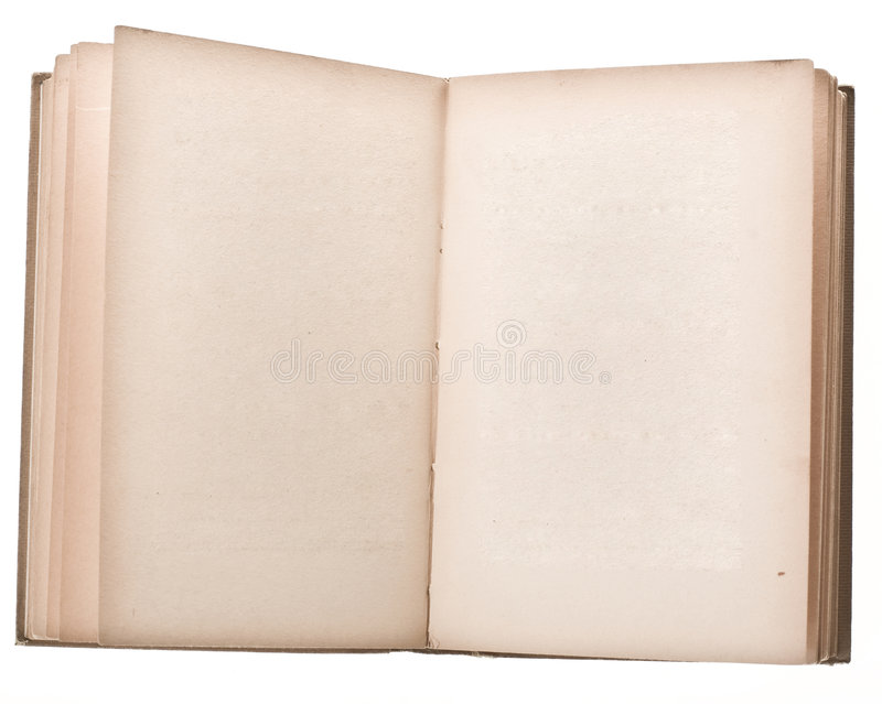 Esconda el libro abierto foto de archivo