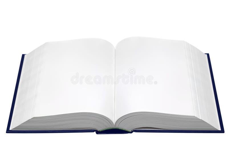 Esconda el libro abierto imagen de archivo