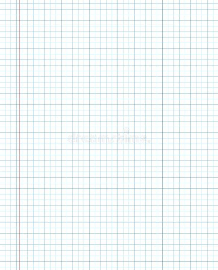 Esconda la textura del papel ajustado de una libreta ilustración del vector