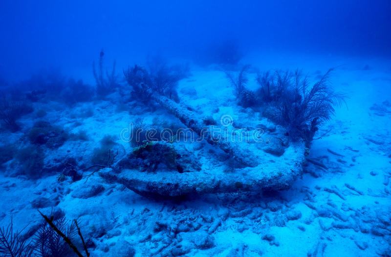 Escora do shipwreck fotos de stock royalty free